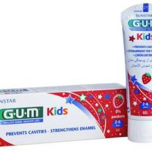 GUM® Kids maasika maitseline hambapasta 2-6-aastastele lastele, 50ml