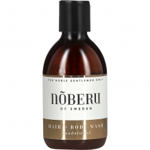 2in1 DUSHIGEEL Sandalwood - Nõberu of Sweden Hair & Body Wash