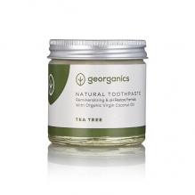 GEORGANICS looduslik orgaaniline remineraliseeriv hambapasta kookosõli baasil (teepuu õliga) 60 ml