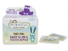 JACK N' JILL Naturaalsed niisked salvrätid beebi suu puhastamiseks